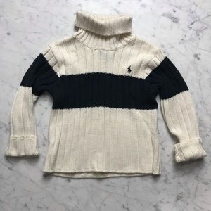Polo by Ralph Lauren Ribbed Turtleneck Sweater